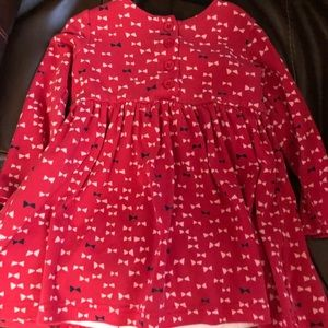 Hanna Andersson Dress with leggings size 90/3.